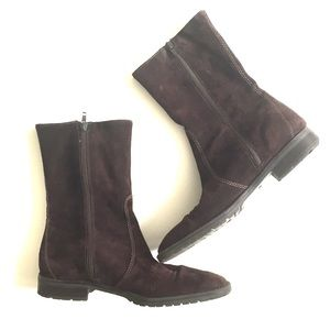J.Crew  Brown Suede Boots Size 8